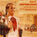 Soviet Propoganda Art Farked into 2008 U.S. Election Campaign Ads