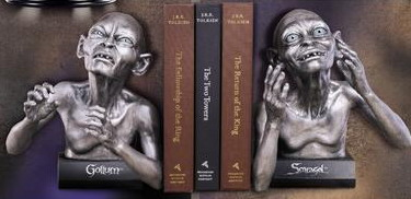 Gollum and Smeagol Bookends - Lord of the Rings