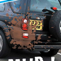 Spray On Mud For SUV