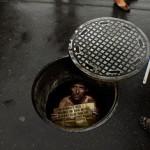 Amnesty International Manhole Ad
