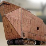 Paper Craft Site Has DIY Instructions For Star Wars Machines