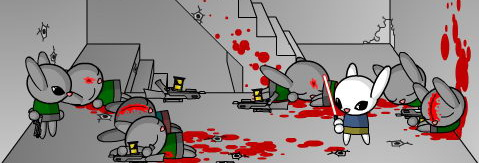 Bunny Kill Flash Animation