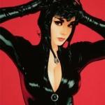 Sexy Catwoman Art Print By Adam Hughes