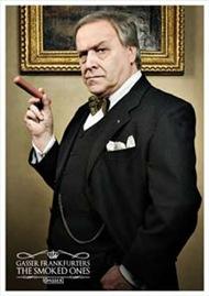 Gasser Frankfurters Ad Campaign Winston Churchill