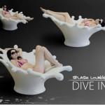 Splash Lounge Chair By Michael Wendel