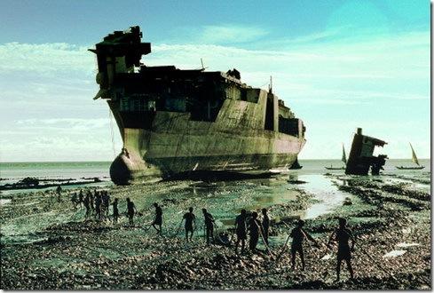 Alang Chittagong Ship Breaking