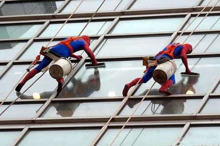 Spider-Man - Cleaning The Shanghai Hilton Hotel