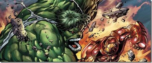 The Incredible Hulk - Iron Man