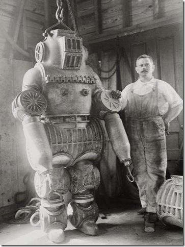 Steampunk Diving Suit
