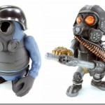 Gas Mask Vinyl Action Figures From Instinct Toys