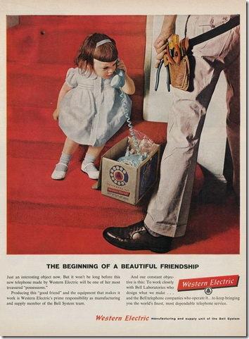 Rotary Telephone Vintage Advertisements