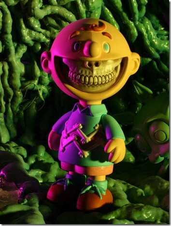 Grin - Vinyl Action Figure by Ron English