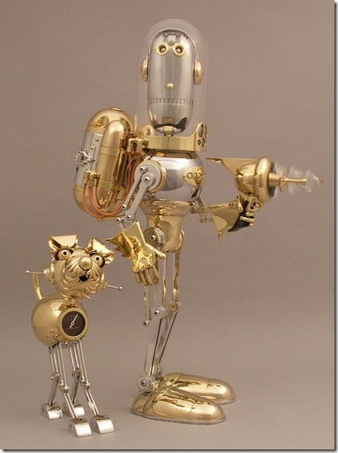 Robot_Sculptures_by_Lawrence_Northey