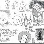 Select Illustrations From Tom Gauld's Sketchbook