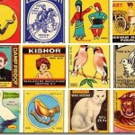 Scans of Old Matchbox Covers