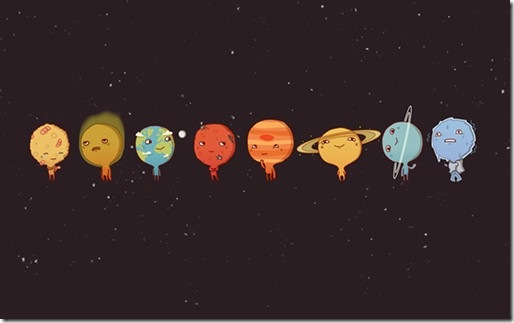 Solar-System-Wallpapers-By-Illustrator-Anneka-Tran-2