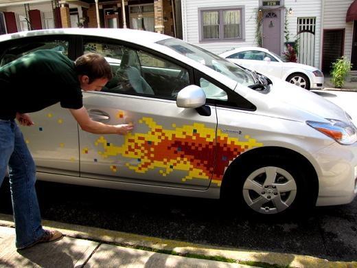 Custom Paint Job Toyota Hatchback