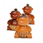 Mimushi Wooden Figurines