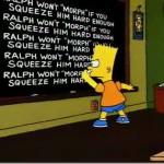 Bart's Blackboard
