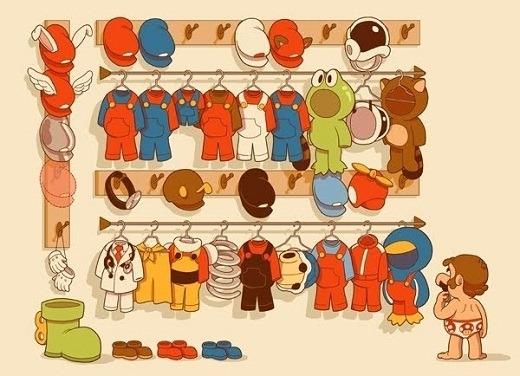 Mario's-Wardrobe