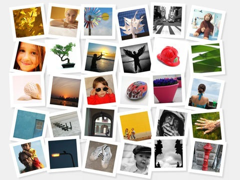 free online photo collage templates - photovisi easy online photo collage maker
