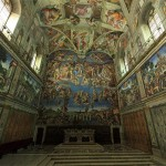 Amazing 360° Panorama of The Sistine Chapel
