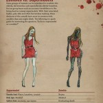 Infographic: Zombies vs. Supermodels