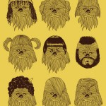 Chewbacca in Hair Wars