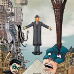 Batman and Robin's Surreal French Vacation