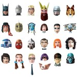 50 Goodies – Illustrations of Heroic Pop Culture Characters