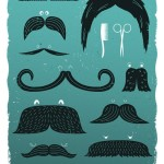 Moustaches – iPhone Art