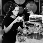 "Vintage Actress Paulette Goddard in ""Modern Times"""