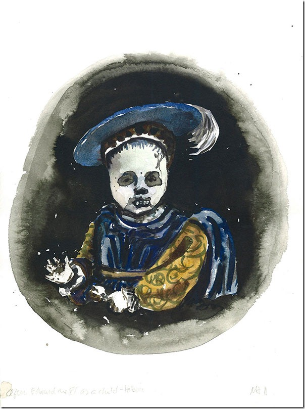 Dead-King-Ed-as-a-Child-(Holbein)