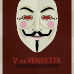 Iconic Movie Masks Posters