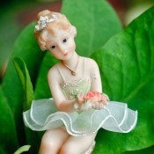 The Little Dancer in My Garden