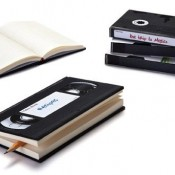VHS Tape Notebooks
