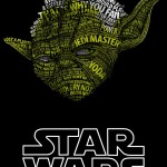 Star Wars Typographic Portraits