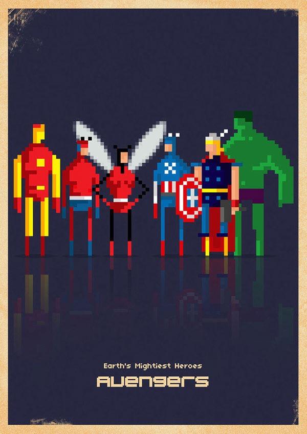avengers_8_bit_by_capdevil13