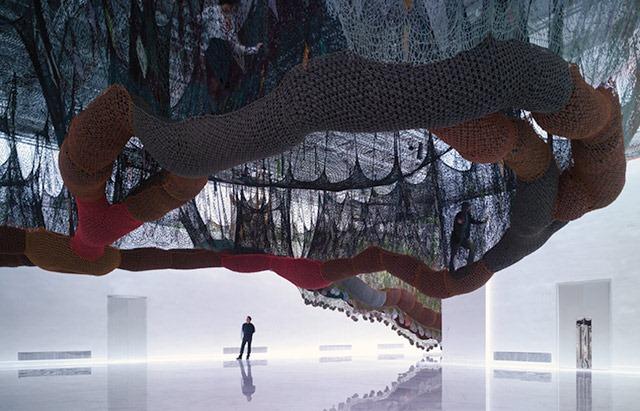 Ernesto-Neto-Installation