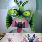"""DIY Pop-up Monsters From """"Waste"""""""