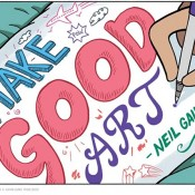A Comic Based on a Neil Gaiman Commencement Speech