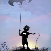 Superhero Kid Silhouettes