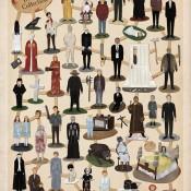 """The Horror Die Cut Collection"" - Art Print by Max Dalton"