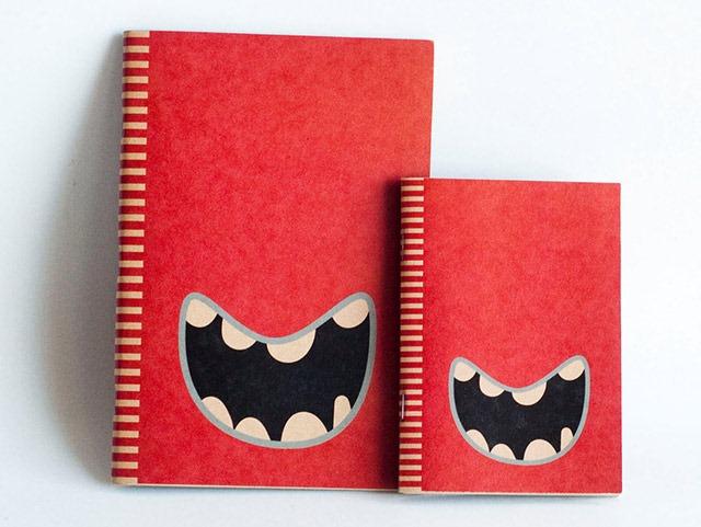 Red-Monster-Notebooks
