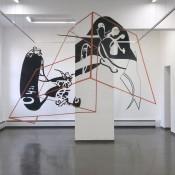 A 3D Tape Art Installation by Joerg Mandernach