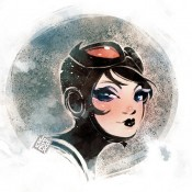 Catwoman Illustration by James Brouwer