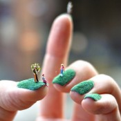 Manicured Fingernail Lawns