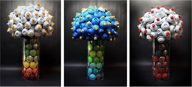 Bouquet-made-with-discarded-spray-cans-02