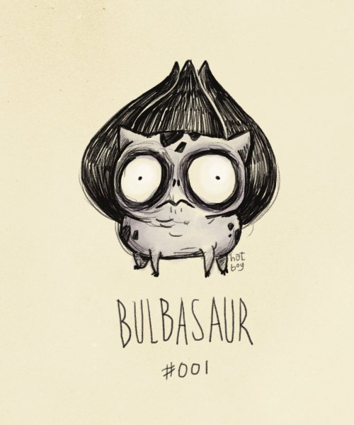 Vaughn-Pinpin-Tim-Burton-Pokemon-Bulbasaur