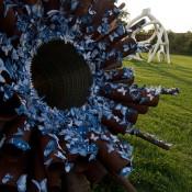 Tasha Lewis's Butterfly Swarm Sculptures